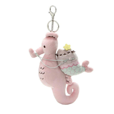 Mermaid Pusheen and Seahorse Deluxe Clip 8.5