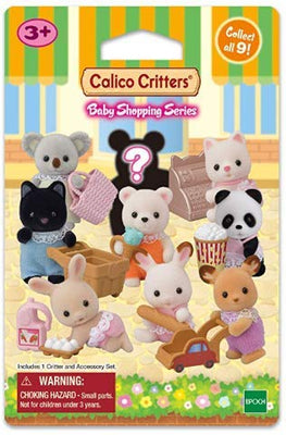 Calico Critters Blind Bag Baby Shopping