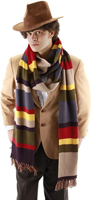 Doctor Who Fourth Doctor Deluxe 6 Foot Scarf
