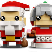 40274 Mr. & Mrs. Clause Brickheadz