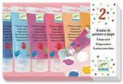 6 Finger Paint Tubes - Sweet