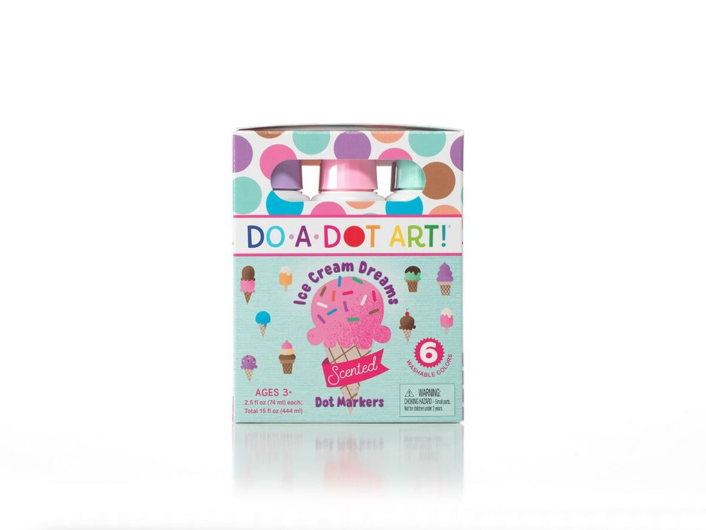Ice Cream Dreams Scented Markers