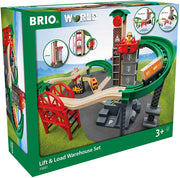 Brio Lift & Load Warehouse Set