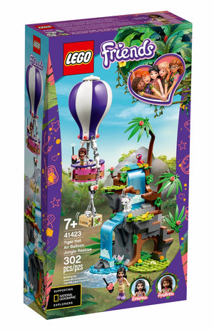 41423 Tiger Hot Air Balloon Jungle Rescue