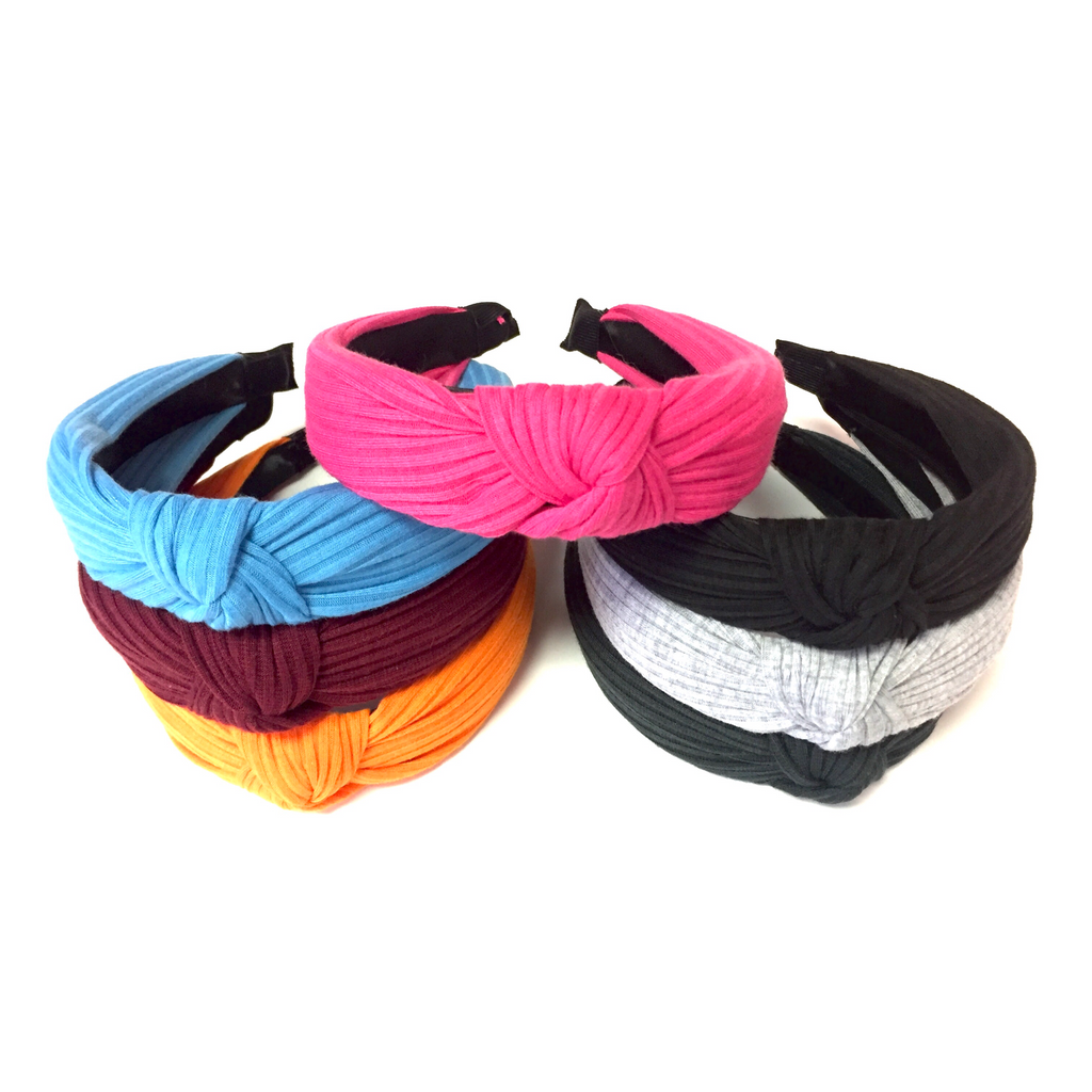 Solid Knot Headbands