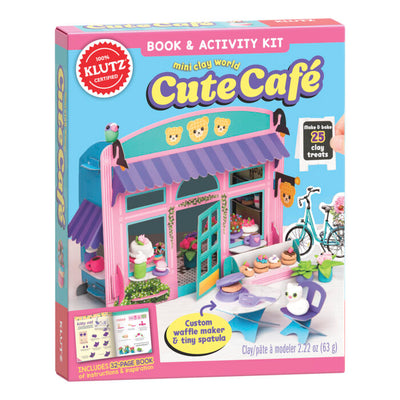 KLUTZ Mini Clay World Cute Cafe