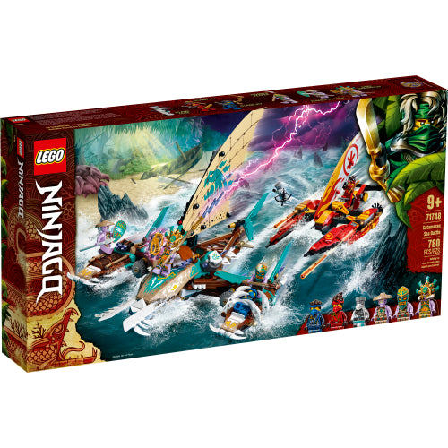 LEGO 71748 Catamaran Sea Battle