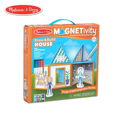 Magnetivity Draw & Build House