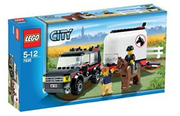 LEGO City 7635: 4WD with Horse Trailer