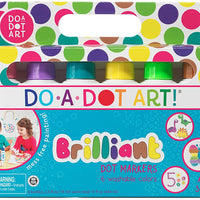 Do-A-Dot 6 Pack Brilliant Markers