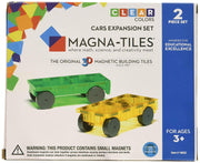 Magna-Tiles Cars 2pc Expansion Set