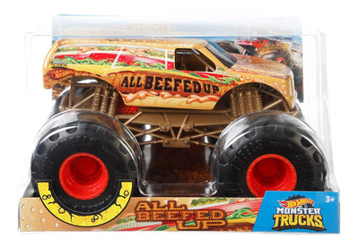 Hot Wheels Monster Truck 1:24 All Beefed Up