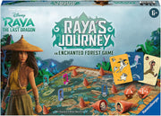 Raya's Journey an Enchanted Forest Board