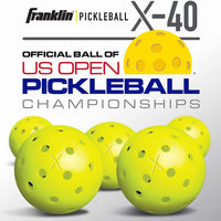 X-40 Pickleballs - Optic
