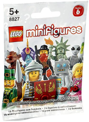 Lego Series 6 Open Mini-figure