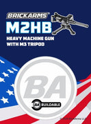 BrickArms M2HB Heavy Machine Gun w/M3 Tripod