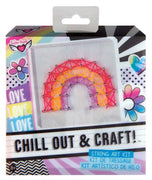 Chill Out & Craft - Rainbow String Art Kit