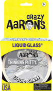 Crystal Clear Liquid Glass Thinking Putty
