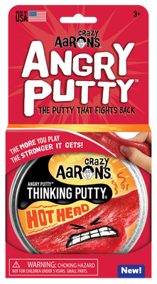 Hot Head Angry Thinking Putty