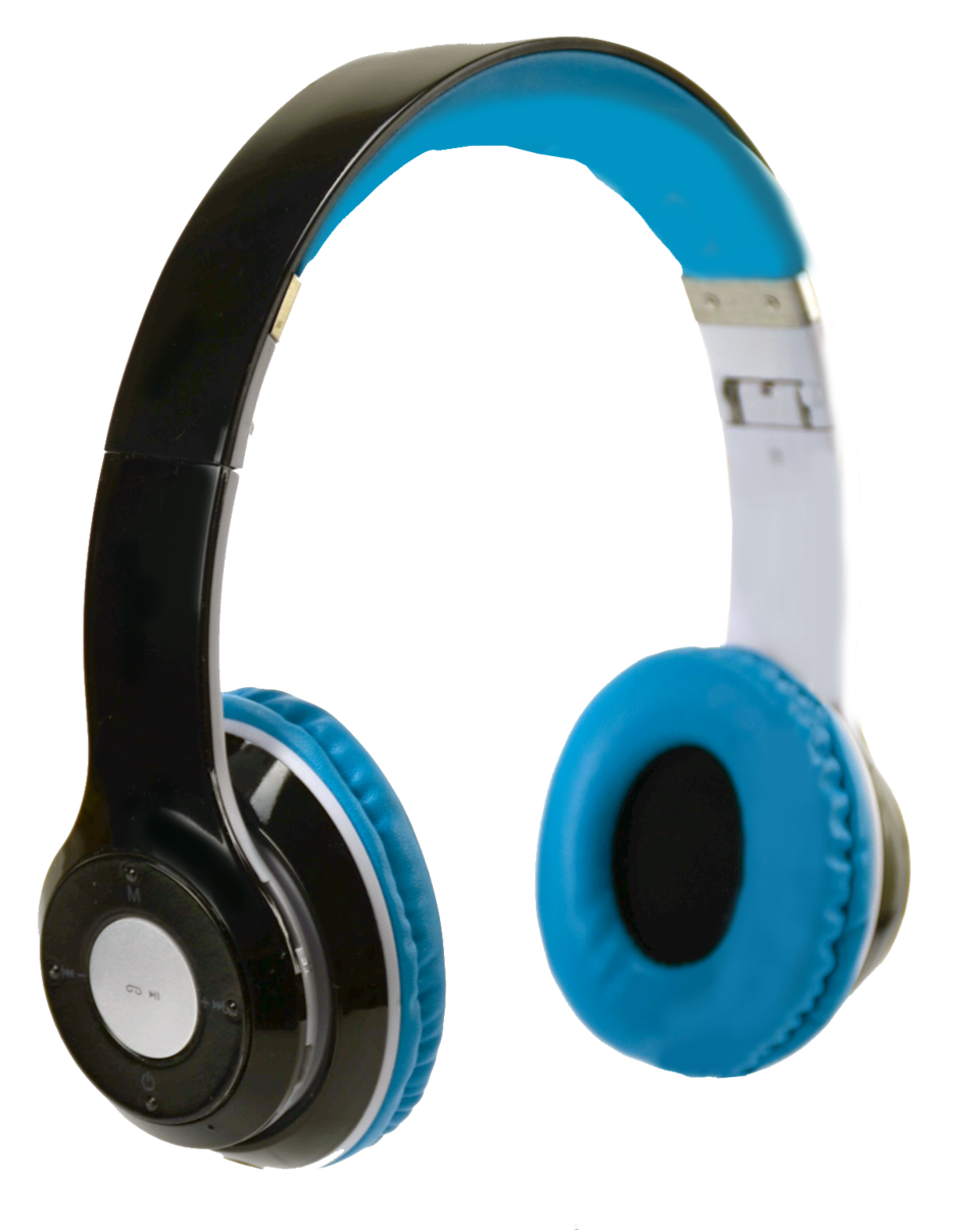 Bluetooth Black Headphones