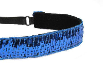 Headband - Blue Sequins