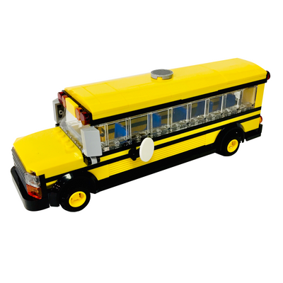 LEGO School Bus Custom Build