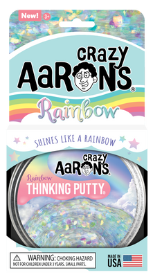 Crazy Aaron's Rainbow Thinking Putty  4