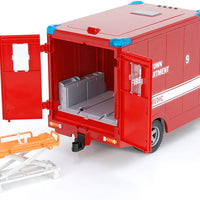 MB Sprinter Fire Dept Paramedic with Driver Accessories