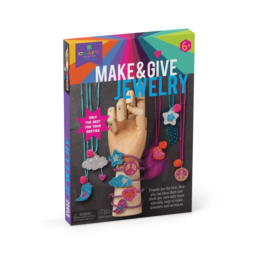 Make & Give - Glitter Jewelry
