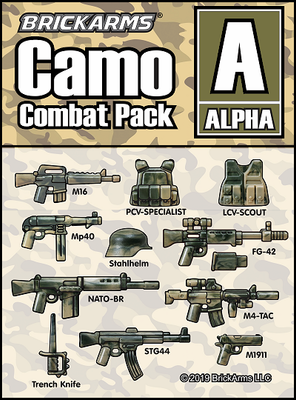 BrickArms Camo Pack A ALPHA