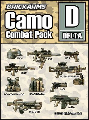 BrickArms Camo Pack D DELTA