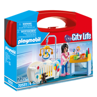 70531 Playmobil Nursery Care Carry Case