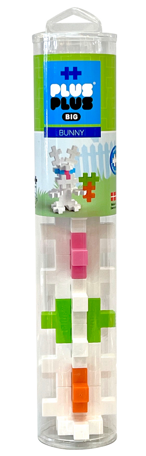 Plus-Plus BIG Tube - Bunny (15 pc)