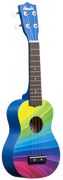 Rainbow Wave Ukulele