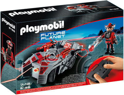 Playmobil Dark Rangers Explorer with IR Knockout Cannon 5156