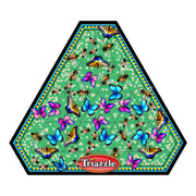 Triazzle Brain Teaser Puzzle - Vital Pollinators (Bees and Butterflies)