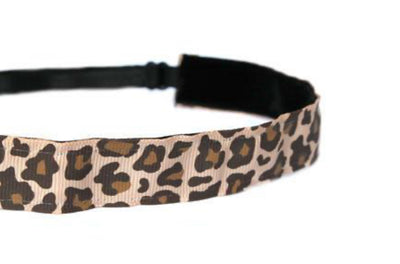 Headband - Cheetah Brown