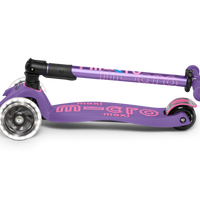 Maxi Deluxe LED Foldable Scooter - PURPLE