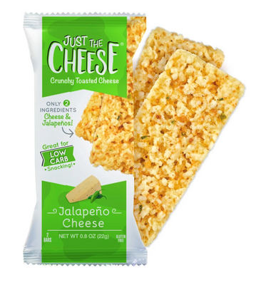 Just The Cheese Jalapeno Cheddar Crunchy Toasted Cheese