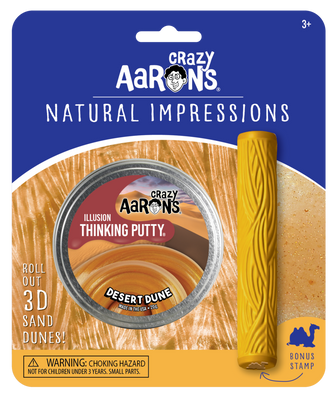 Desert Dune Natural Impressions Thinking Putty