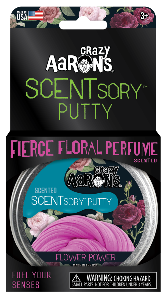 Flower Power Vibes SCENTSory PUtty