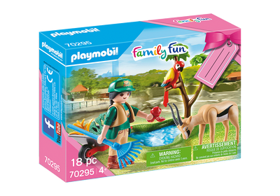 70295 Playmobil Zoo Gift Pack