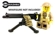 BrickArms Vickers Machine Gun w/Ammo & Tripod