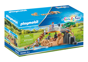 70343 Playmobil Outdoor Lion Enclosure