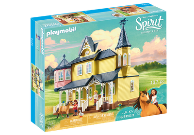 9475 Spirit Riding Free Lucky's House