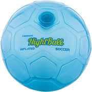 NightBall Soccer Inflatable Blue