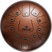 "Steel Tongue Drum - 8"" Bronze"