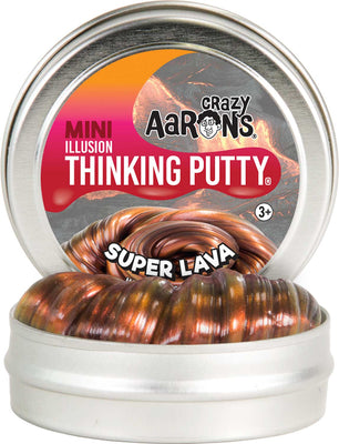 Crazy Aaron's Super Lava Illusion Thinking Putty 2