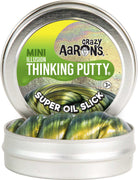 "Crazy Aaron's Super Oil Slick Illusion Thinking Putty 2"" Tin"