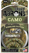 "Crazy Aaron's Thinking Putty Woodland Pattern- Camo  4"" Tin"